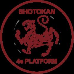 Dan examentrainingen Shotokan 4de Platform