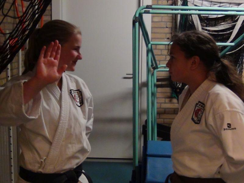 Assistentes Chemehne en Laura