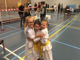 Verslag deelname meisjes team kata wedstrijd Tamashii te Halsteren