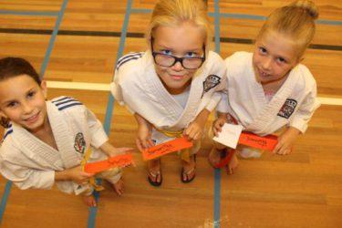 Kata stage Nederlands kampioene kata Samantha van Lokven.