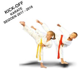 Kick-off karate seizoen 2017 – 2018