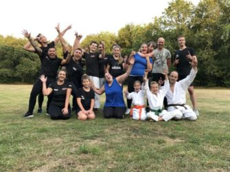 Vierde buiten training Krav Maga 29 juli 2019